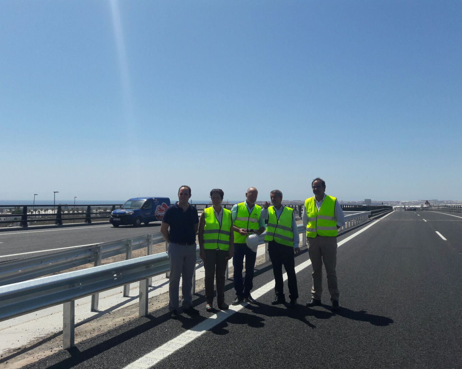 ACCIONA completes the first section of the Roquetas de Mar bypass, now open to traffic