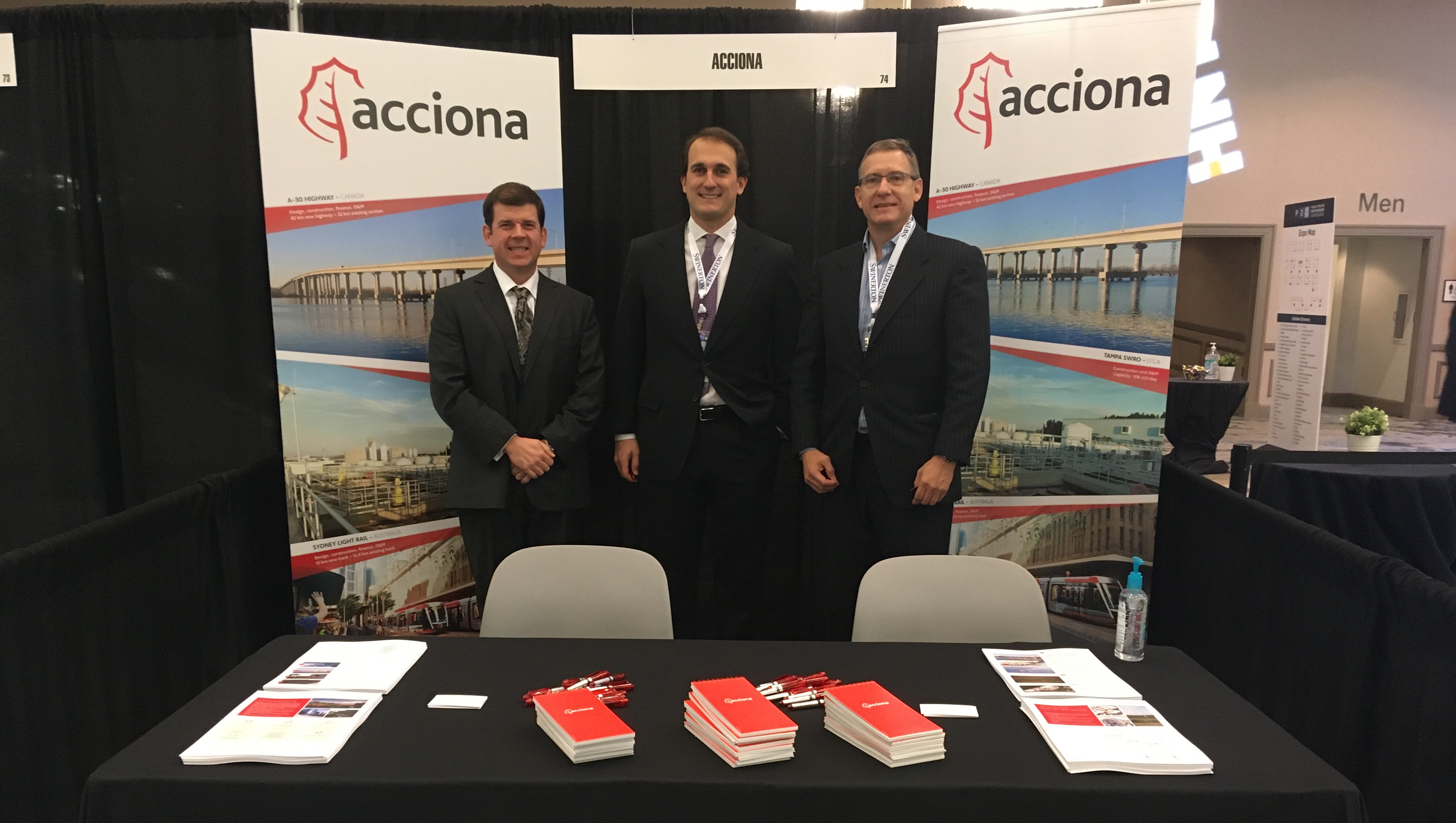 ACCIONA sponsors 2020 P3 Conference in Dallas