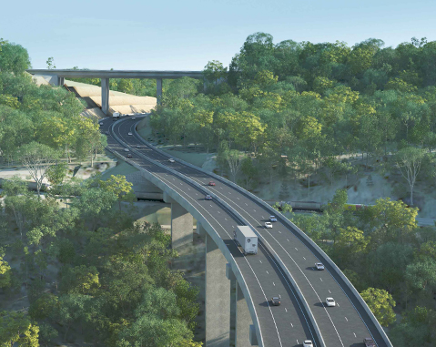 Toowoomba Second Range Crossing project wins PPP award